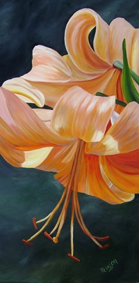 Lily In Light SOLD